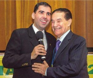Allan e Divaldo Franco FEESP 2014