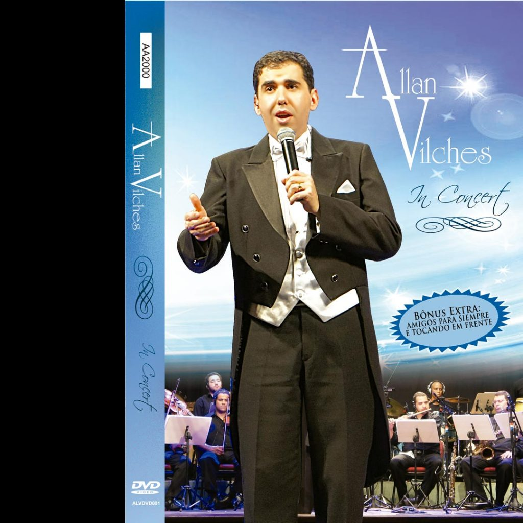 DVD Allan Vilches In Concert